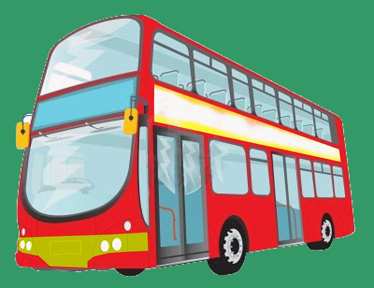Картинка автобусов для презентации