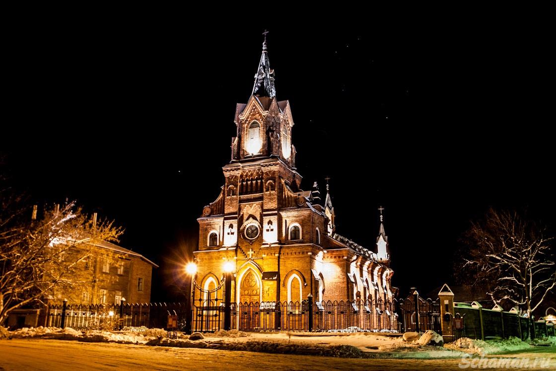 католический костел в прокопьевске обычно